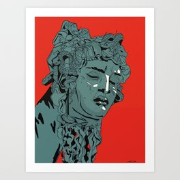 Cellini's Medusa Art Print