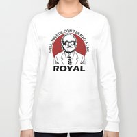 tenenbaum Long Sleeve T-shirts featuring Royal Tenenbaum quotes by Buby87