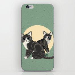 Lovely kitties iPhone Skin
