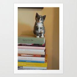 Book-Smart Twylla Pickett Art Print