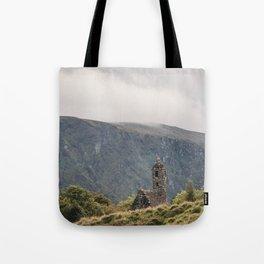 Glendalough Mountain Monastery Tote Bag