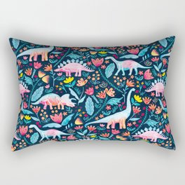 Dinosaur Delight Rectangular Pillow