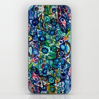 underwater iPhone & iPod Skins featuring Underwater by Lily Mandaliou