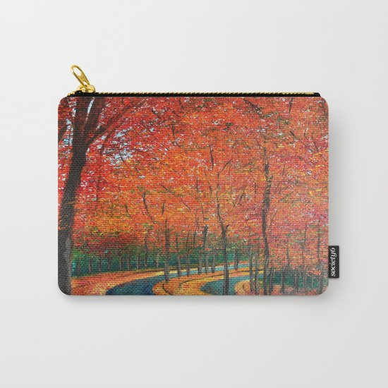 Beautiful colors of Autumn Carry-All Pouch