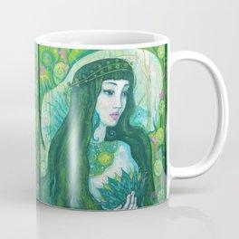 Green Mermaid Coffee Mug