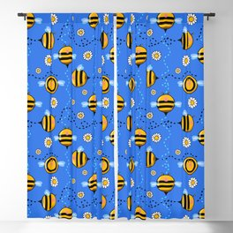boo(bees) boob bees Blackout Curtain
