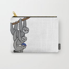 Sloth Skater Boy Carry-All Pouch