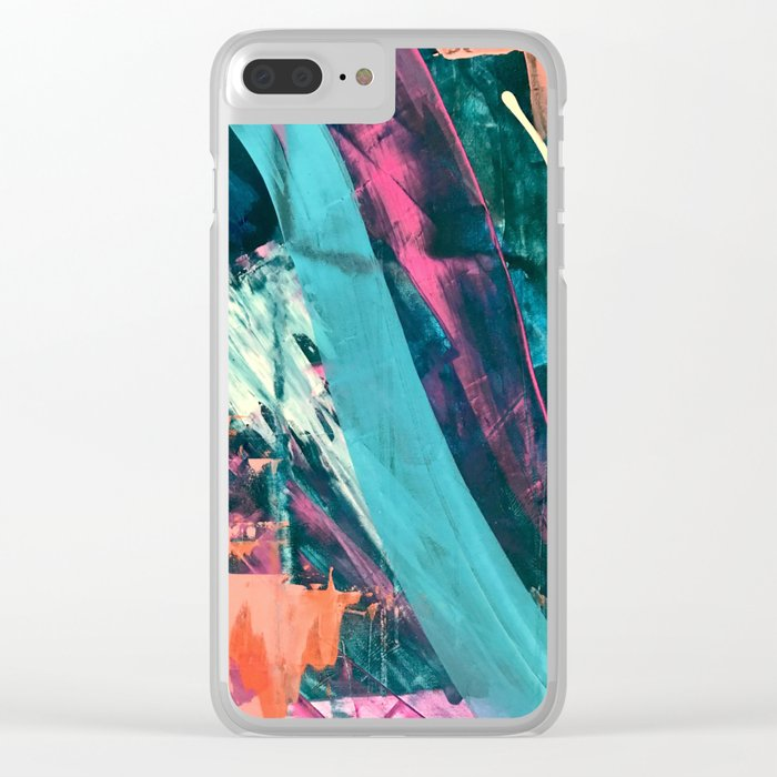 Bold Colorful Turquoise iphone case