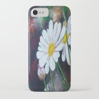 pushing daisies iPhone & iPod Cases featuring Daisies  by ANoelleJay