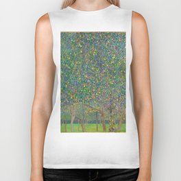 "Gustav Klimt ""Pear tree"" Biker Tank"