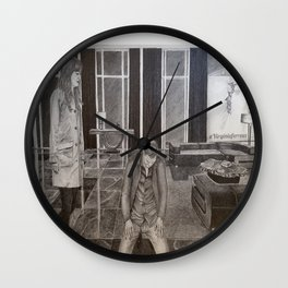 """""""Christian the submissive"""" Fifty Shades Darker Wall Clock"""