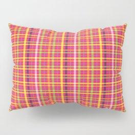 Plaid Pattern Pillow Sham