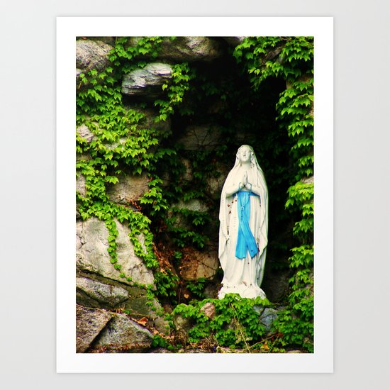 Grotto in the Daytime Art Print