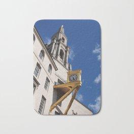clock and tower - leeds Bath Mat