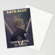 David Bowie The man who fell to earth Stationery Cards