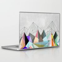 mountain Laptop & iPad Skins featuring Colorflash 3 by Mareike Böhmer
