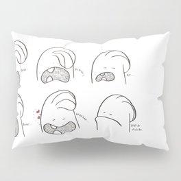 Ba be bi bo bu Pillow Sham