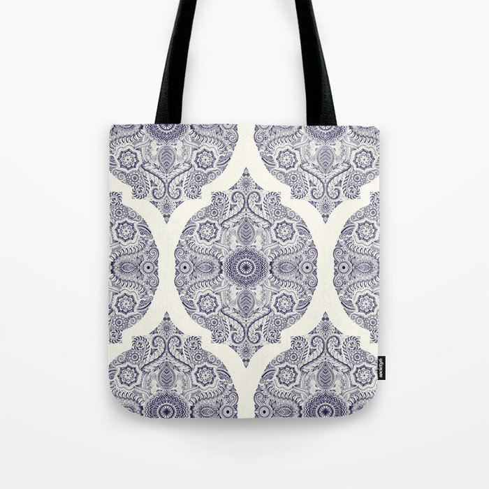 Explorations in Ink & Symmetry Tote Bag