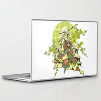 asian Laptop & iPad Skins featuring Asian spring by Tshirt-Factory