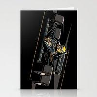 senna Stationery Cards featuring Ayrton Senna x JPS by Sean Kane Design