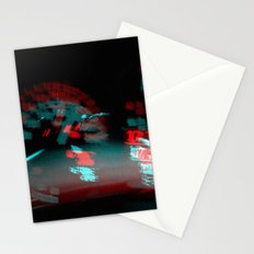 degenerated speed Stationery Cards