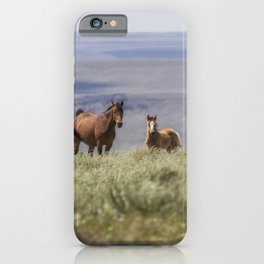 On the Mountain iPhone Case
