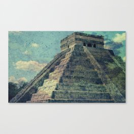 El Castillo (2) [Grunge] Canvas Print