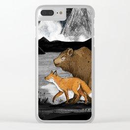Nightwalkers Clear iPhone Case