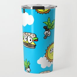Cheeseburgers in Paradise Travel Mug