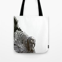 turkey Tote Bags featuring Turkey! by MClementTheArtist