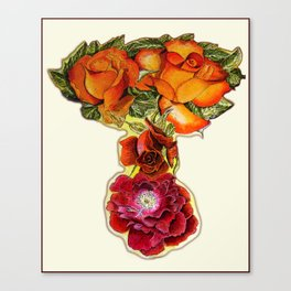 Roses 4 YOU Canvas Print