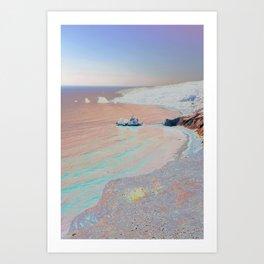Chromascape 2 (Cyprus) Art Print