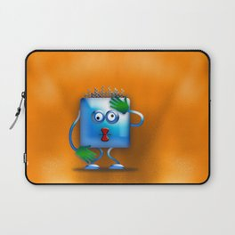 cubickly challenged Laptop Sleeve