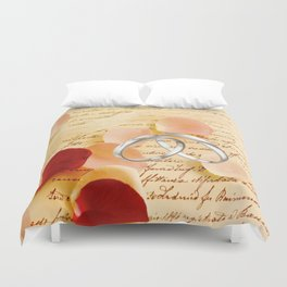 Just a note to say I love you. . . Duvet Cover