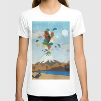 chile T-shirts featuring Norte de Chile by i am nito