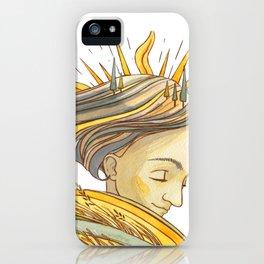 Sun Girl iPhone Case