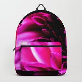 Vibrant Pink Flower Backpack