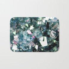 Geode Crystal Turquoise Pink Quartz Bath Mat