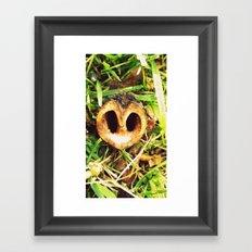 Nutty Framed Art Print