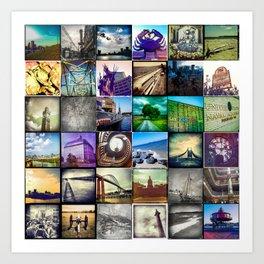 Photamerica: Maryland hipsta cube Art Print