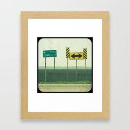 Savannah ♥ Tybee Framed Art Print