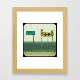 Savannah ♥ Tybee Framed Art Print