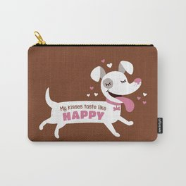 Dog kisses Carry-All Pouch