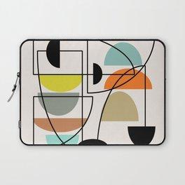 "Mid Century Modern ""Bowls"" Laptop Sleeve"