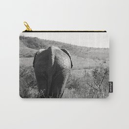 Elephant in Africa Carry-All Pouch