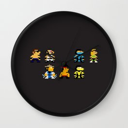 Choose Your Fighter Wall Clock