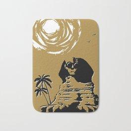 Sunshine Sentinel (Gold) Bath Mat