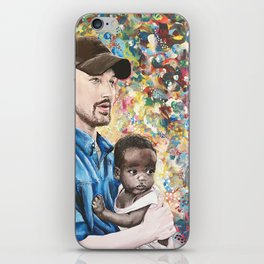 He Went To Africa iPhone Skin