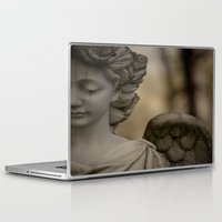religious Laptop & iPad Skins featuring Angel by Maria Heyens