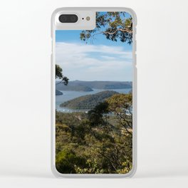 View of Hawkesbury River from Muogamarra Reserve, Sydney Clear iPhone Case